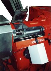detail of forced feed roller